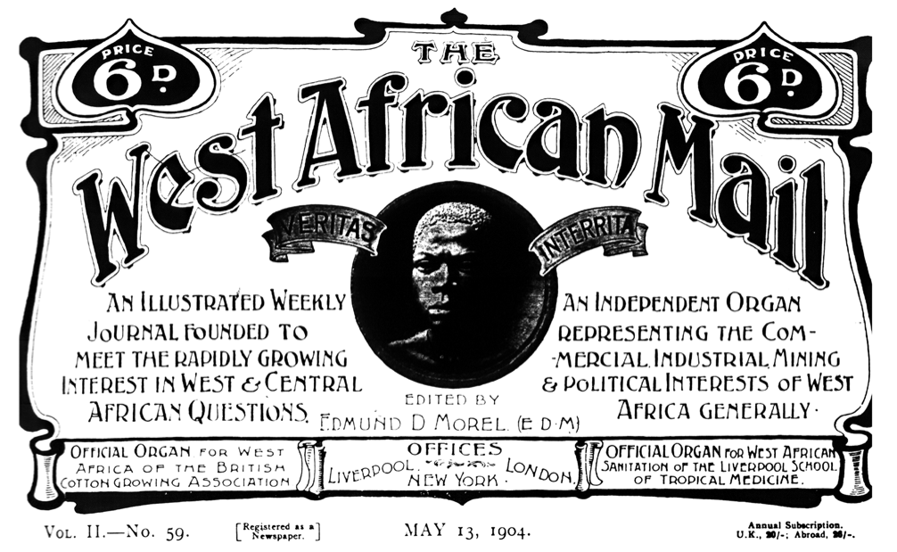 West African Mail masthead