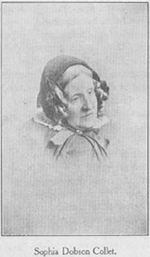 Portrait Drawing of Sophie Dobson Collet