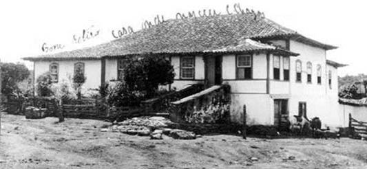 The house in Oliveira, state of Minas Gerais, Brazil, where Carlos Ribeiro Justiniano Chagas was born (July 9, 1878) (Archives of the Instituto Oswaldo Cruz)