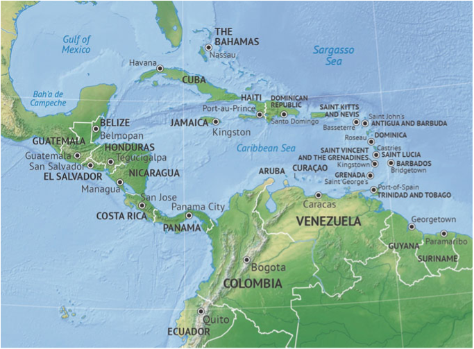 Central America and the Caribbean - Mathematics Teacher ...