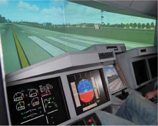 University of Southampton flight simulator
