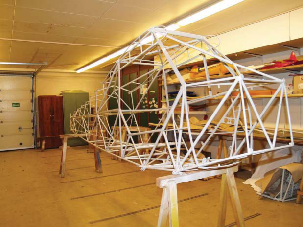 """Spaceframe"" aircraft structure"