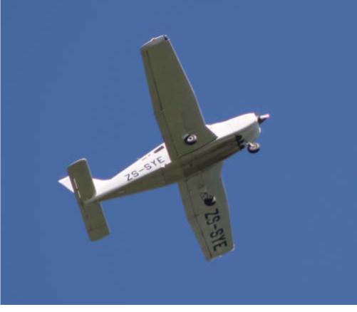 Multipanel wing of PA-28. Photo courtesy Bob Adams https://creativecommons.org/ licenses/by-sa/2.0/ - no copyright is asserted by the inclusion of this image