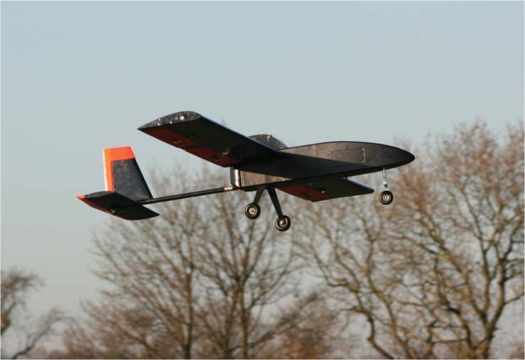 Our first student-designed UAV