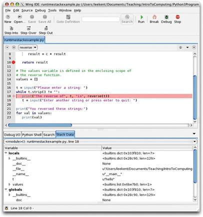 The Run-Time Stack - Python Programming Fundamentals -