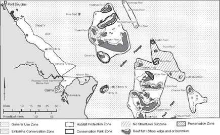 Zoning of the Great Barrier Reef (Cairns Section)