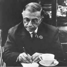 Jean-Paul Sartre was the icon of twentieth century existentialism (Art Archive).