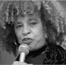 African American social critic and political activist Angela Davis has remained relevant since the 1970s by continuing to write on race and gender issues (AP).