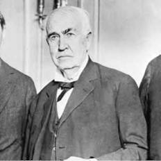 The idea of progress through technological innovation was certainly the faith held by such prominent thinkers as inventor Thomas Edison (AP).