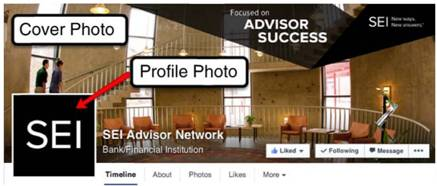 Facebook's Cover and Profile Photo
