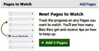 Facebook's New Feature–Pages to Watch