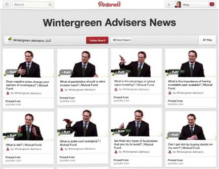 Wintergreen Advisers on Pinterest